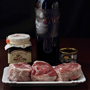 Ingredientes del Tournedó Aragones