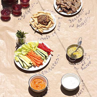 Ingredientes para preparar el Ternasco de Aragón