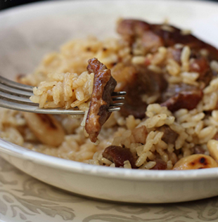 Arroz con Ternasco