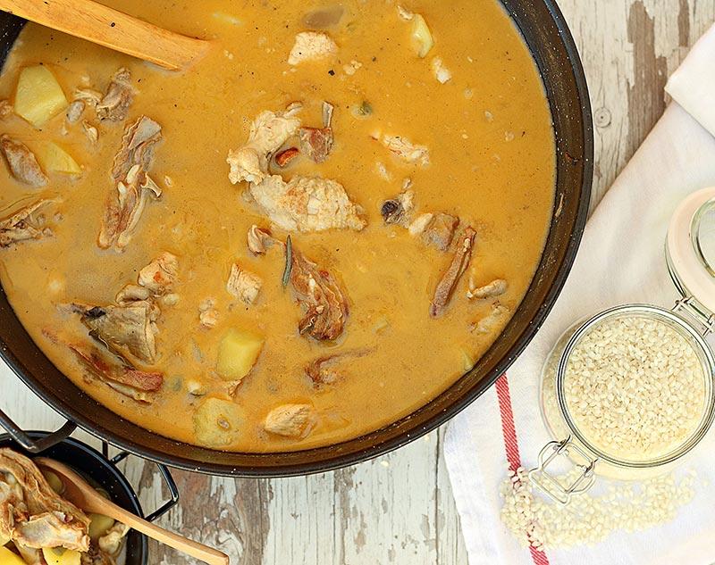 Rancho aragonés cocinado
