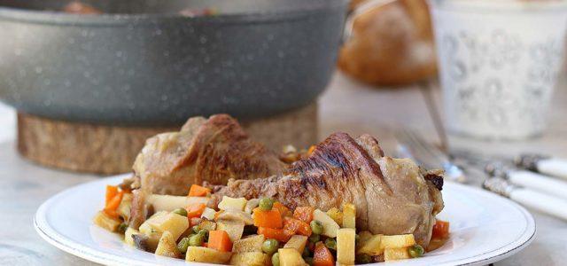 Cordero guisado con patatas