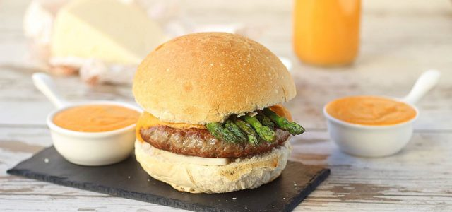 hamburguesa de ternasco de aragon
