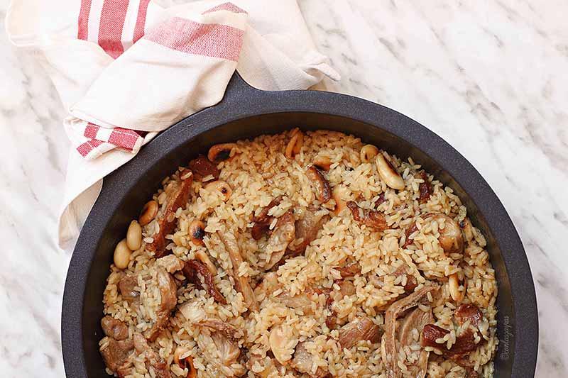 arroz de cordero