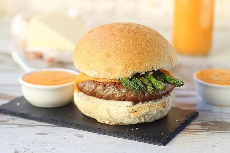 hamburguesa cordero