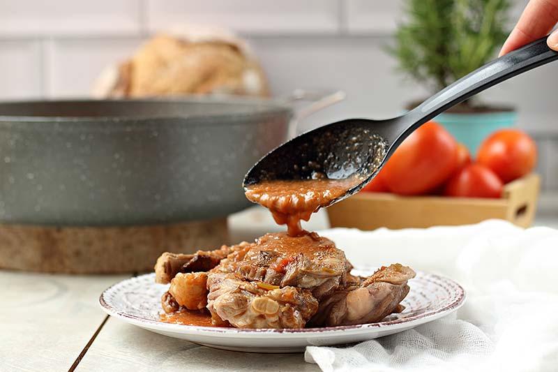 cocinar cordero guisado estofado